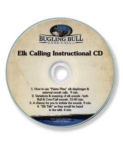 #120 Instructional Elk Hunting CD