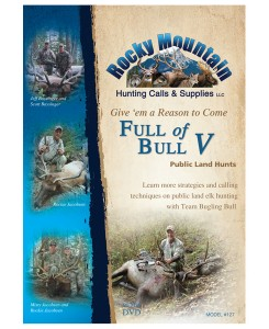 #127 Full of Bull 5 Elk Hunting DVD